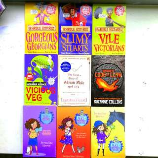 GREAT VALUE!! Horrible Histories Horrible Science Suzanne Collins Underland Chronicles Alice Miranda series