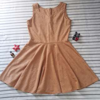 Cute brown dress ❤