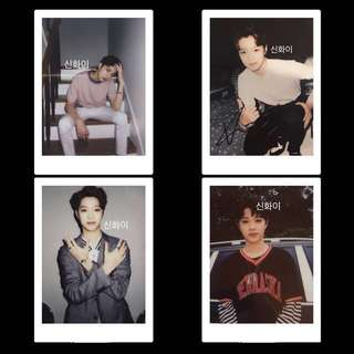 Lai Guan Lin Wanna One Signed Polaroid