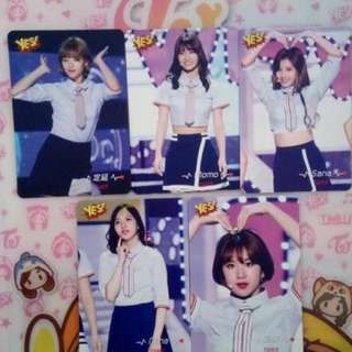 Twice yescard(3)