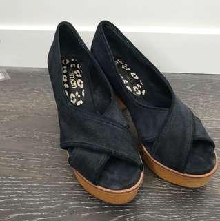 Gorman suede heels