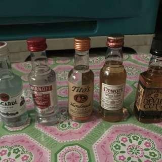 Miniature Alcohol