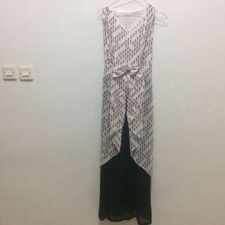 Dress Panjang Motif Bird