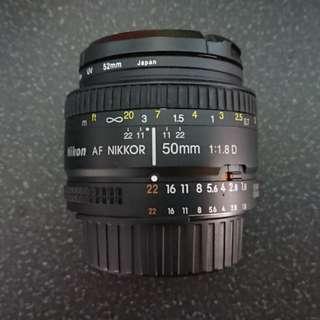 Nikon  50mm 1.8D cheap!