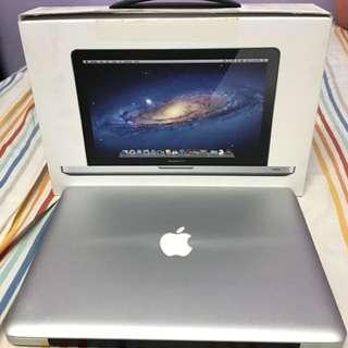 主機版壞掉的2011年初版13吋Macbook Pro(除主機版外,其餘都正常)(盒子還在)