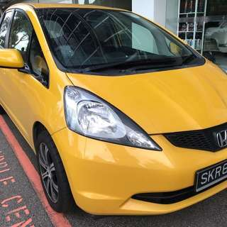 Honda Fit for Uber and Grab