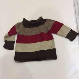 Gap knitwear jumper sweater like new 6-12m boys
