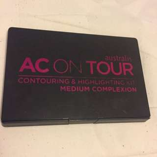 Australis AC ON TOUR Contouring and highlighting kit