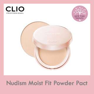 Clio Nudism Moist Fit Powder Pact (Multiple Shade)