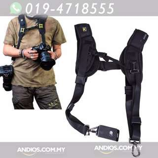 In-Stock✔Double Quick Strap Camera Sling Strap Photo Tali Kaki Foto Outdoor