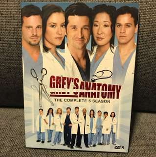 Greys anatomy season 5 DVD