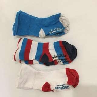 Gap socks age 2-3 years boys
