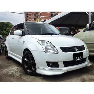 SUZUKI SWIFT 1.5 (AUTO) HIGH SPEC 2008/09