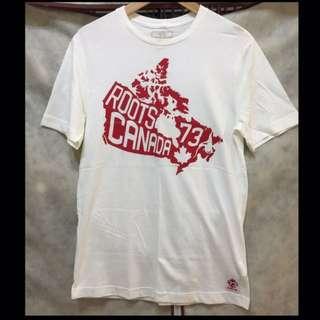 🚚 Roots男短袖T恤 XS.S.M.L