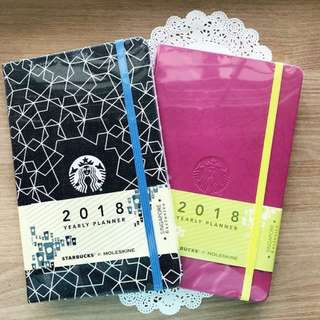 BN Starbucks Moleskin Y2018 Planner