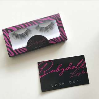 ✨INSTOCK✨ Babydoll Lashes In Q19