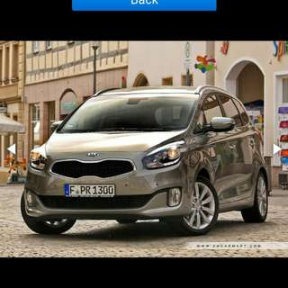 NEW* Kia Carens 7 seated MPV (Diesel) for rental   1.7L Diesel Turbo Engine.    Powerful and Superior Fuel Efficiency MPV!!