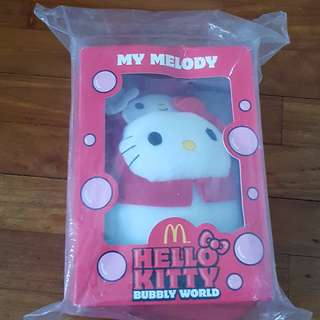 Macdonald Hello Kitty Melody Plushie (Bubbly World)