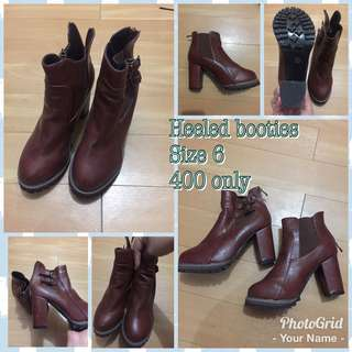 Booties 300 only!