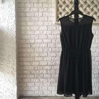 Uniqlo Chiffon dress