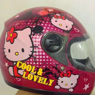 Hello kitty full face helmet KIDS