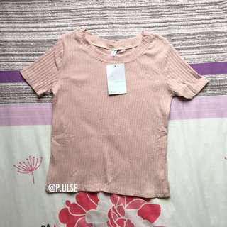 bnwt ribbed top