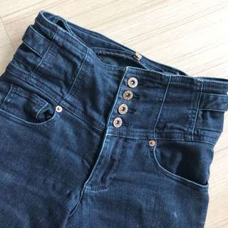 Topshop High Waisted Skinny Jeans