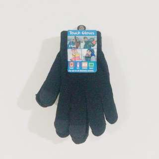 Black Touch Gloves