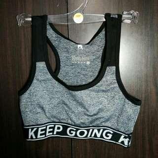sports bra & leggings terno (from bench)