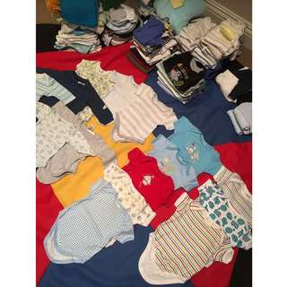 100pieces - BRANDED Clothes (Newborn-1yr)