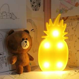 lampu tidur [nanas] marquee lamp