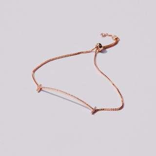 Cross End Bracelet