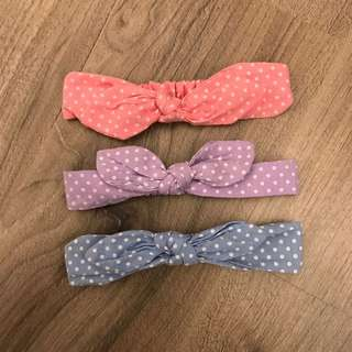Baby Hairband For 3