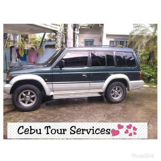 Cebu Tour Services (rent a car with driver/tour guide) Price start @ 700