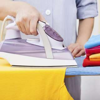 Part Time Ironing lady