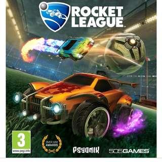 LF> ps4 rocket league