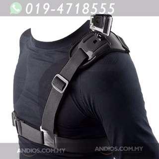 In-Stock✔Single Shoulder Chest Strap Mount Holder Pro Belt For GoPro Hero 5 4 3+ 3 2