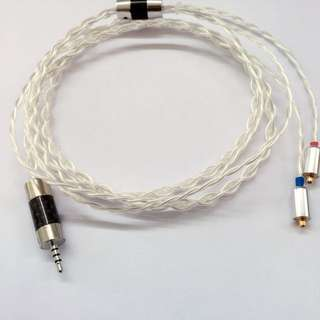 Price Reduced! Last  6Sets DHC OCC Silver Plated Copper Cable