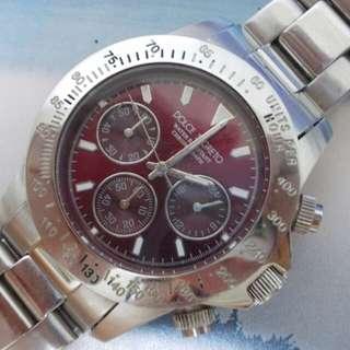 Original Dolce Segreto chronograph watch