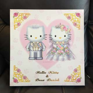 結婚相簿Wedding album-西式Hello Kitty