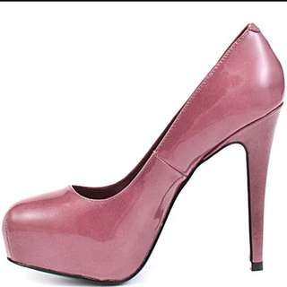Steve Madden Platform Patent Leather Heels Size 7 1/2