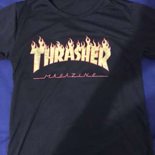 Trasher flaming shirt
