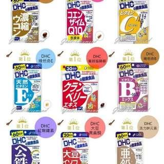 日本 – DHC 健康產品系列 各種丸