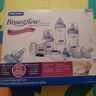 The First Year Breast Flow Bottle Set