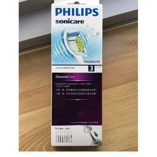 Philips toothbrush Sonicare Diamondclean standard replacement brush head HX6063/05