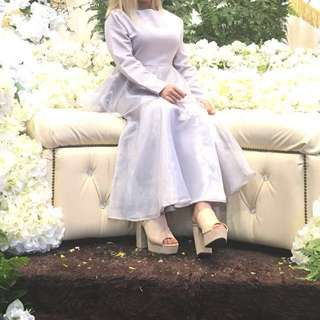 Romper Bridesmade Dress