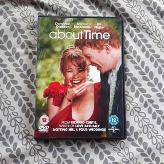 REPRICED About Time DVD