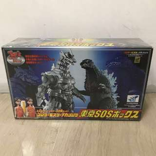 Bandai Godzilla vs MechaGodzilla 2004 8inch Rare Giftset