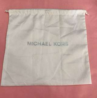 Authentic Michael Kors dust bag MK