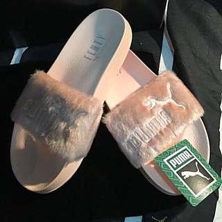 Authentic Fenty Puma Shoes (sliders)